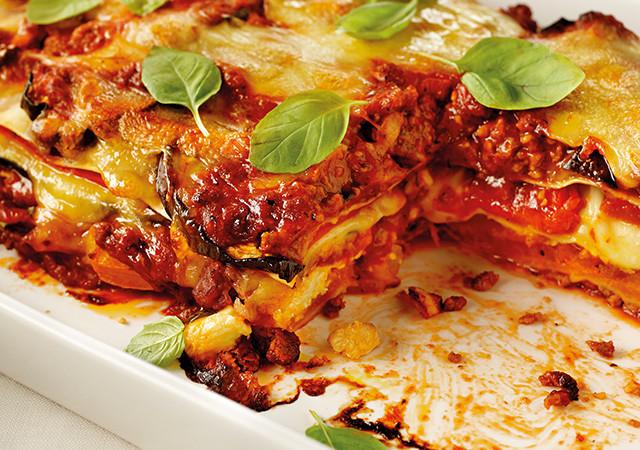 roasted-italian-vegetable-beef-lasagne
