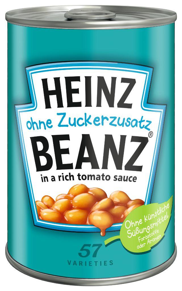 Heinz Baked Beanz ohne Zuckerzusatz 415g image