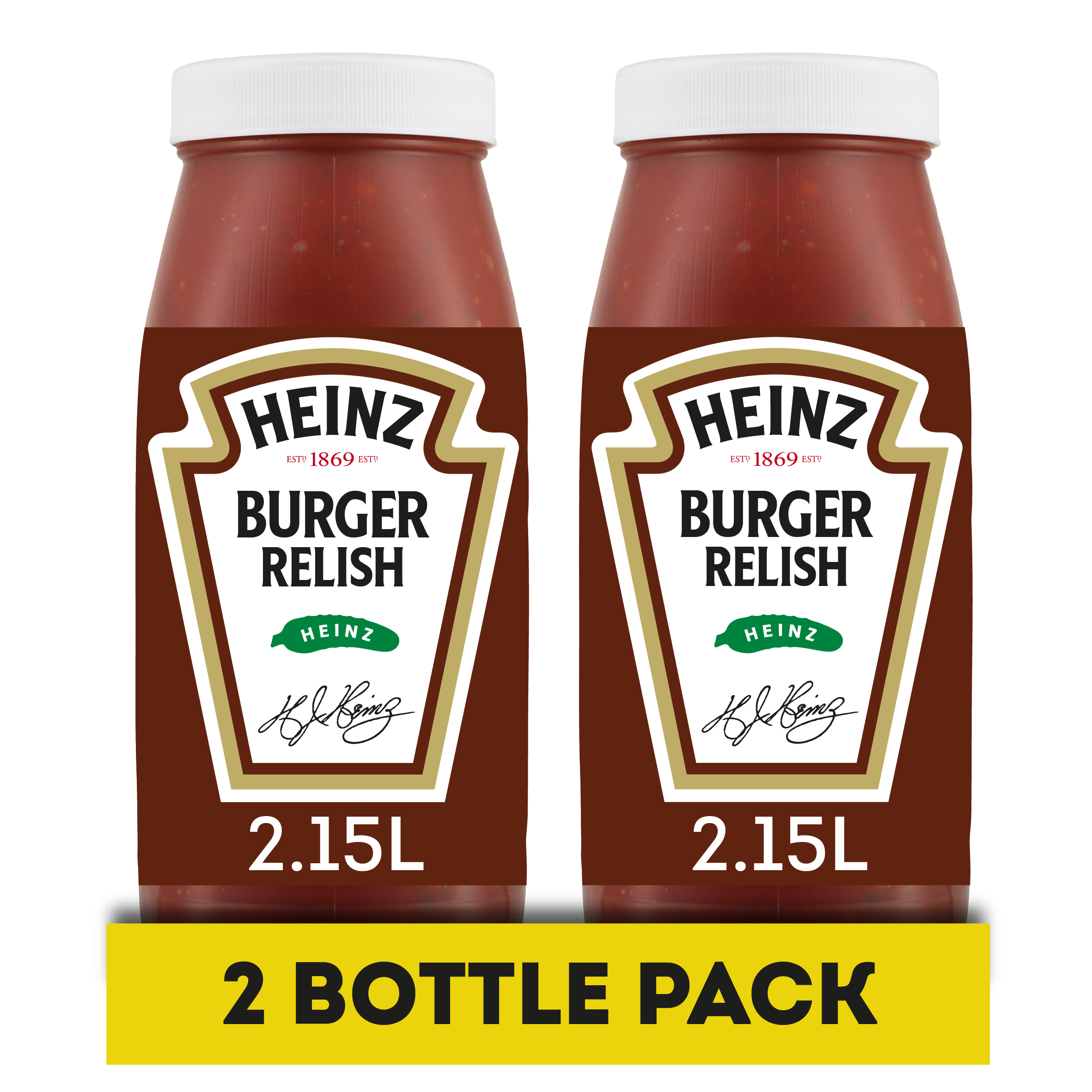 Heinz Burger Relish 2.15L Jars
