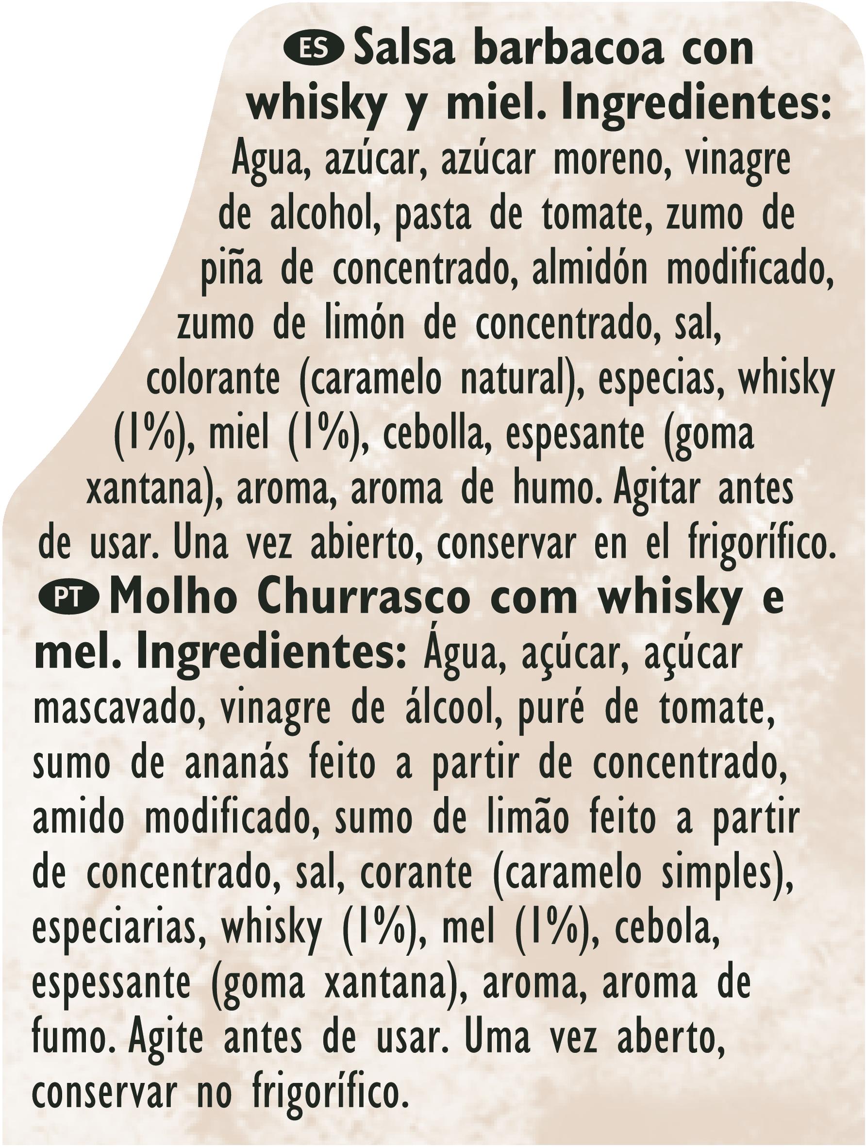 Bull's Eye sweet whisky 2L