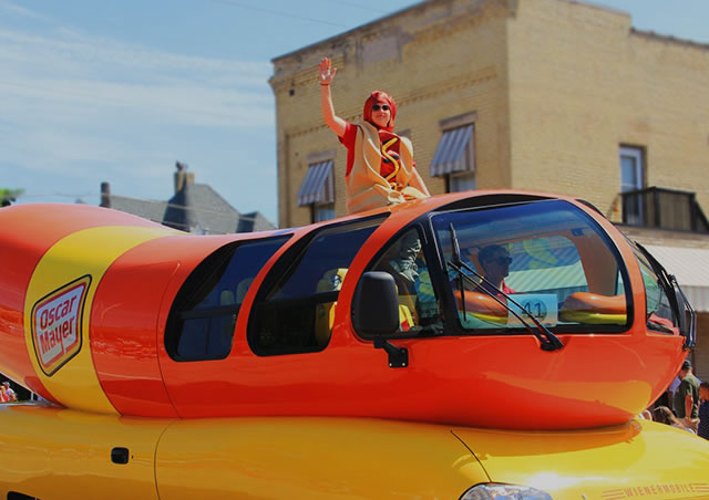 Looking For <br> The Wienermobile?
