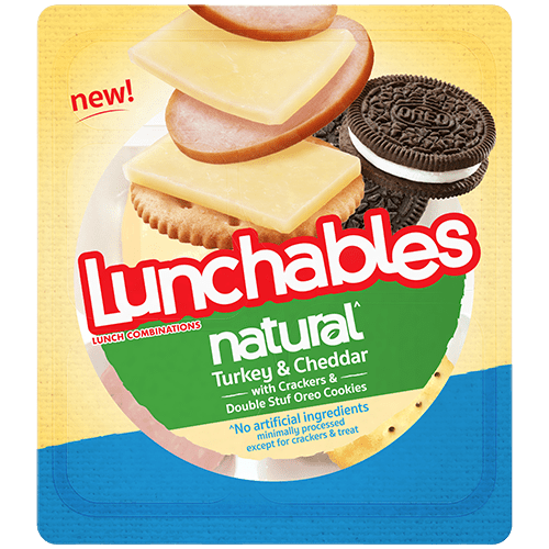 Lunchables Natural Turkey and Cheddar
