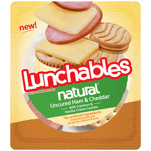Lunchables Uncured Ham and Cheddar
