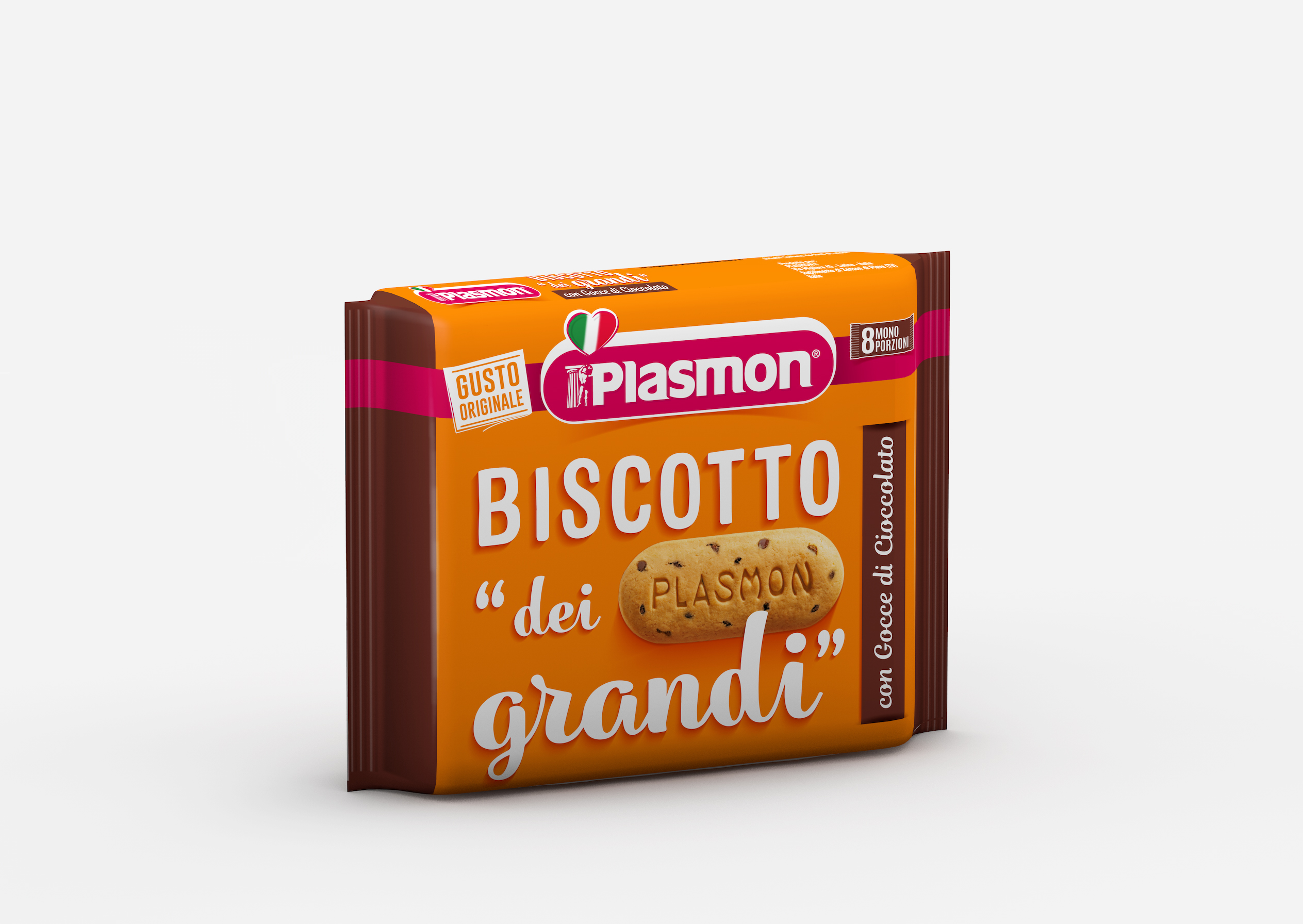 Plasmon Biscuit for Grown ups with chocolate chips