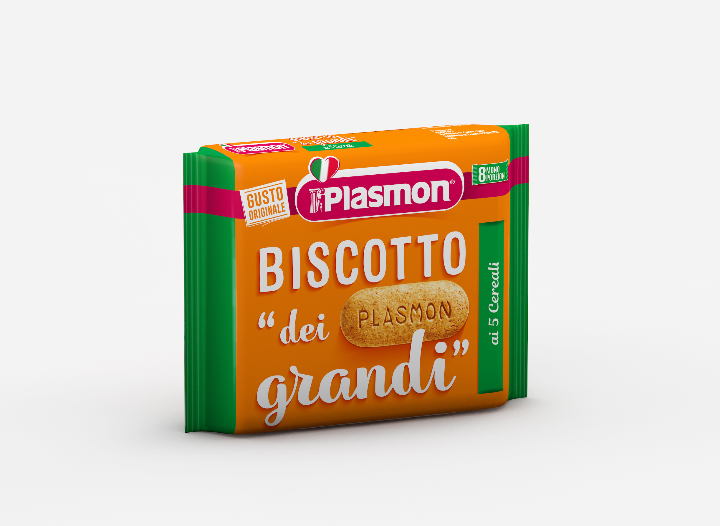 Plasmon Biscuit for Grown ups with cereal