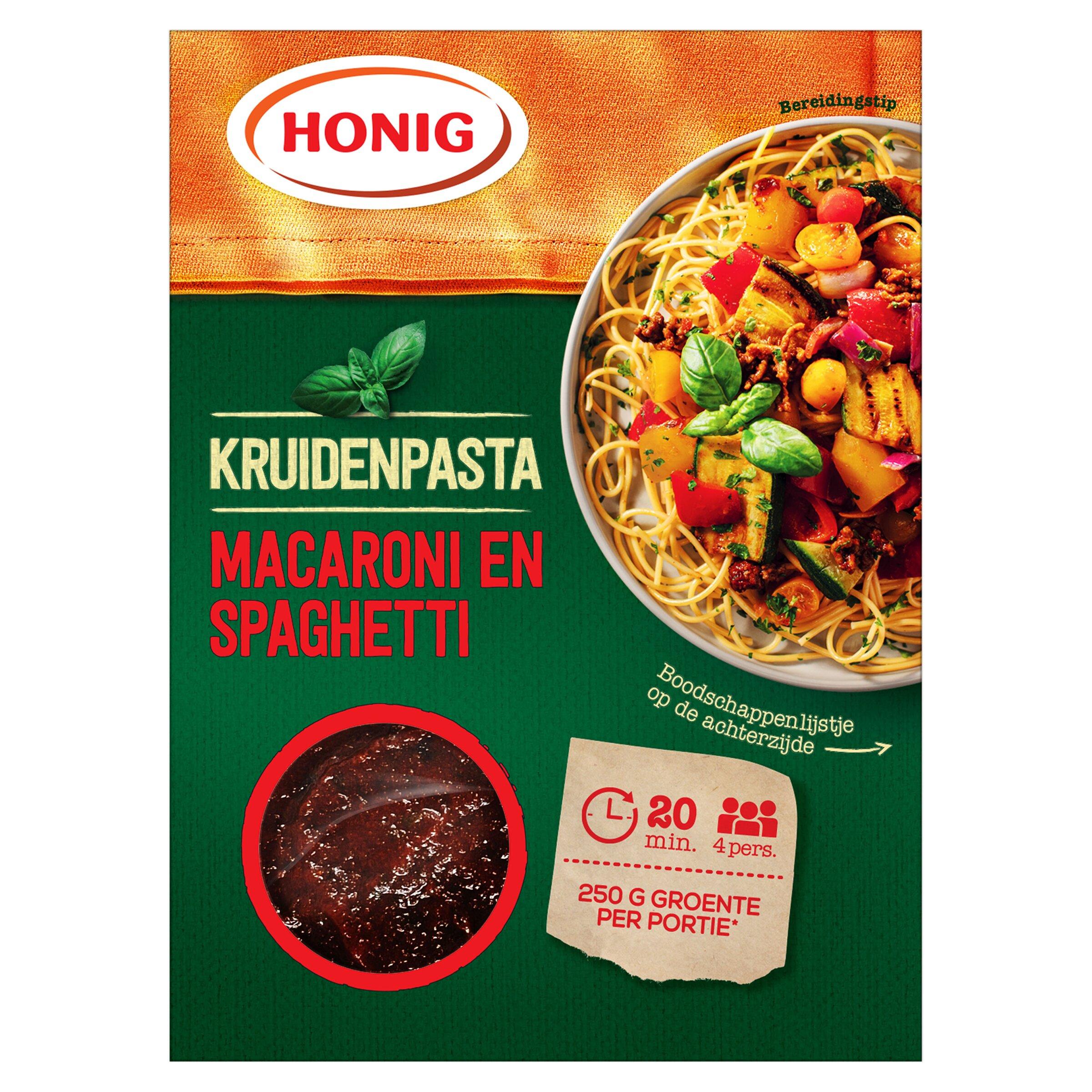 Macaroni en Spaghetti