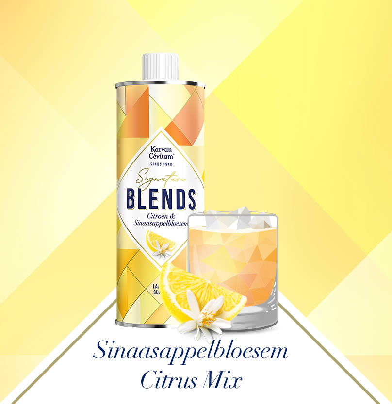 Sinaasappelbloesem Citrus Mix Mocktail