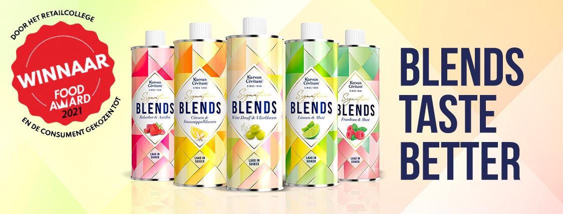 blends taste better banner