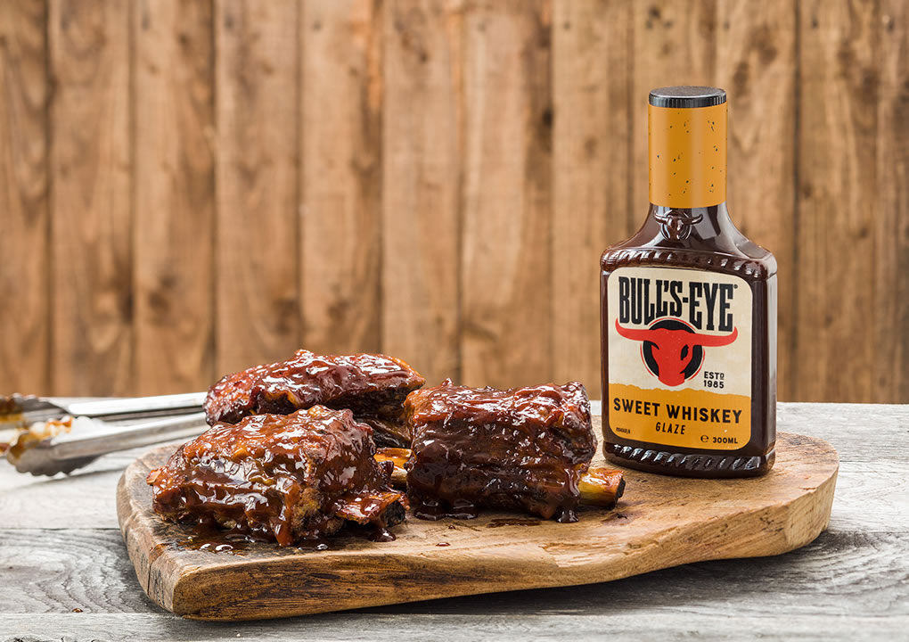 Smoked 'n' glazed beef BBQ short ribs