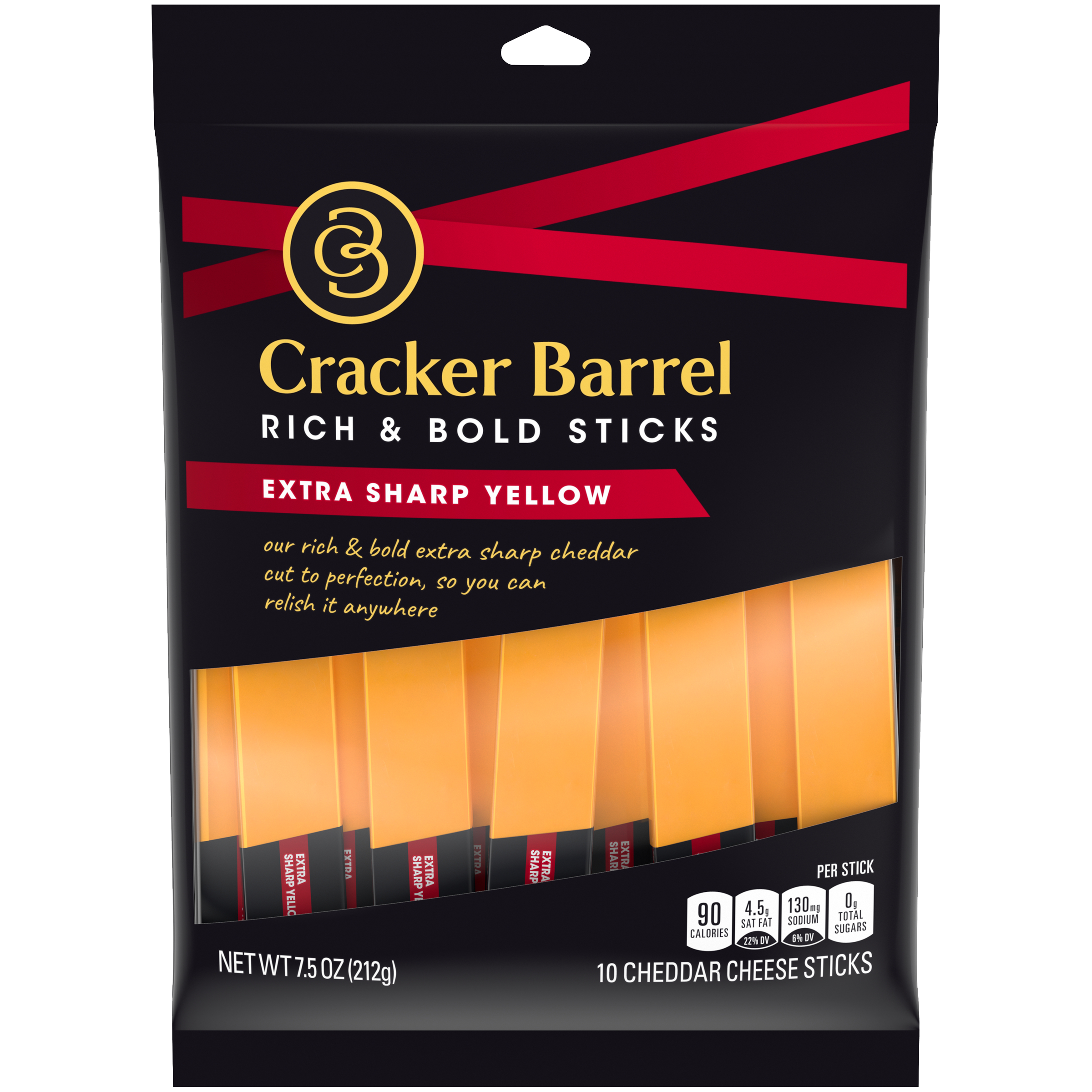 Extra Sharp Yellow Cheddar Sticks