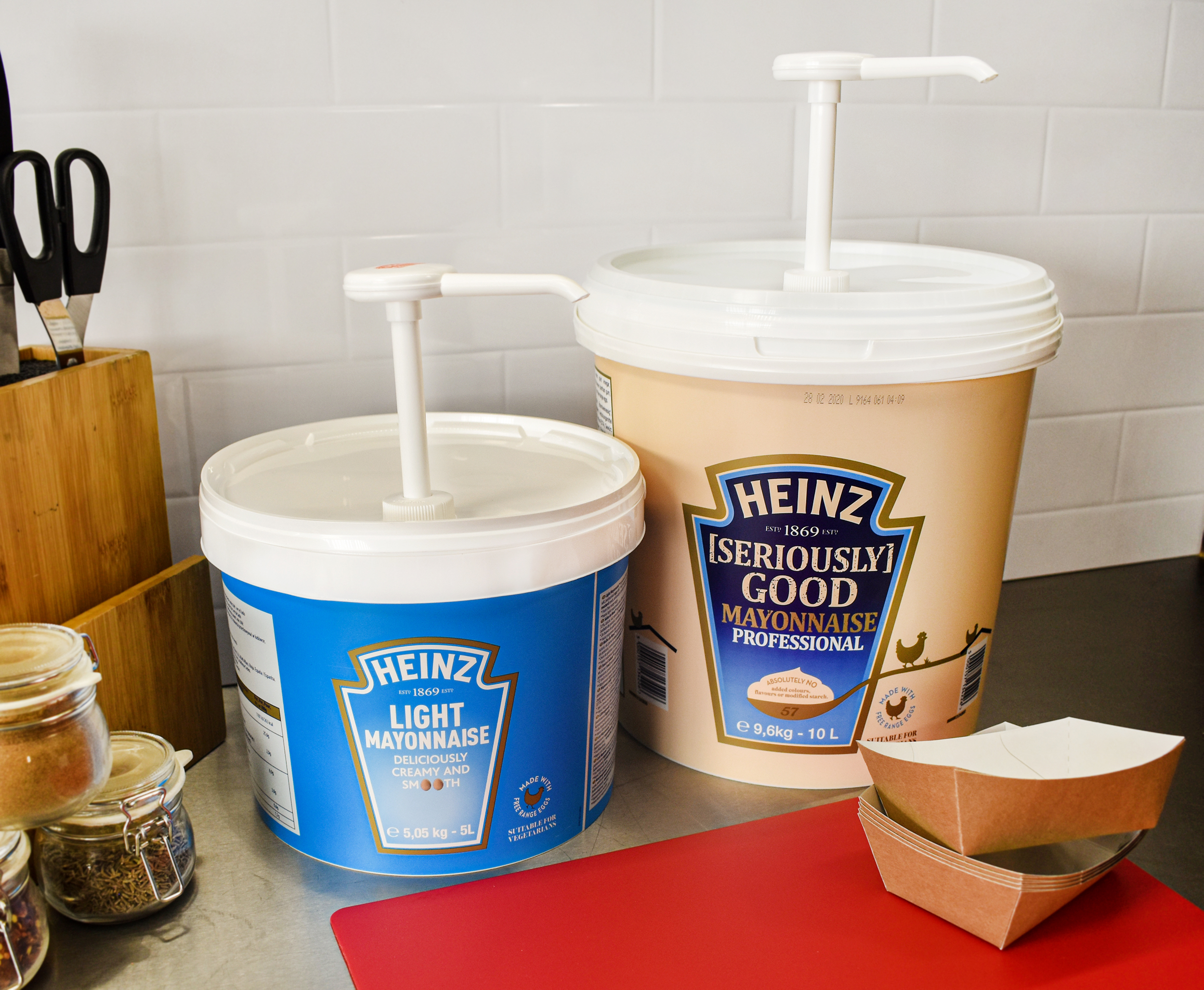 Heinz [Seriously] Good Mayonnaise 5L Pail