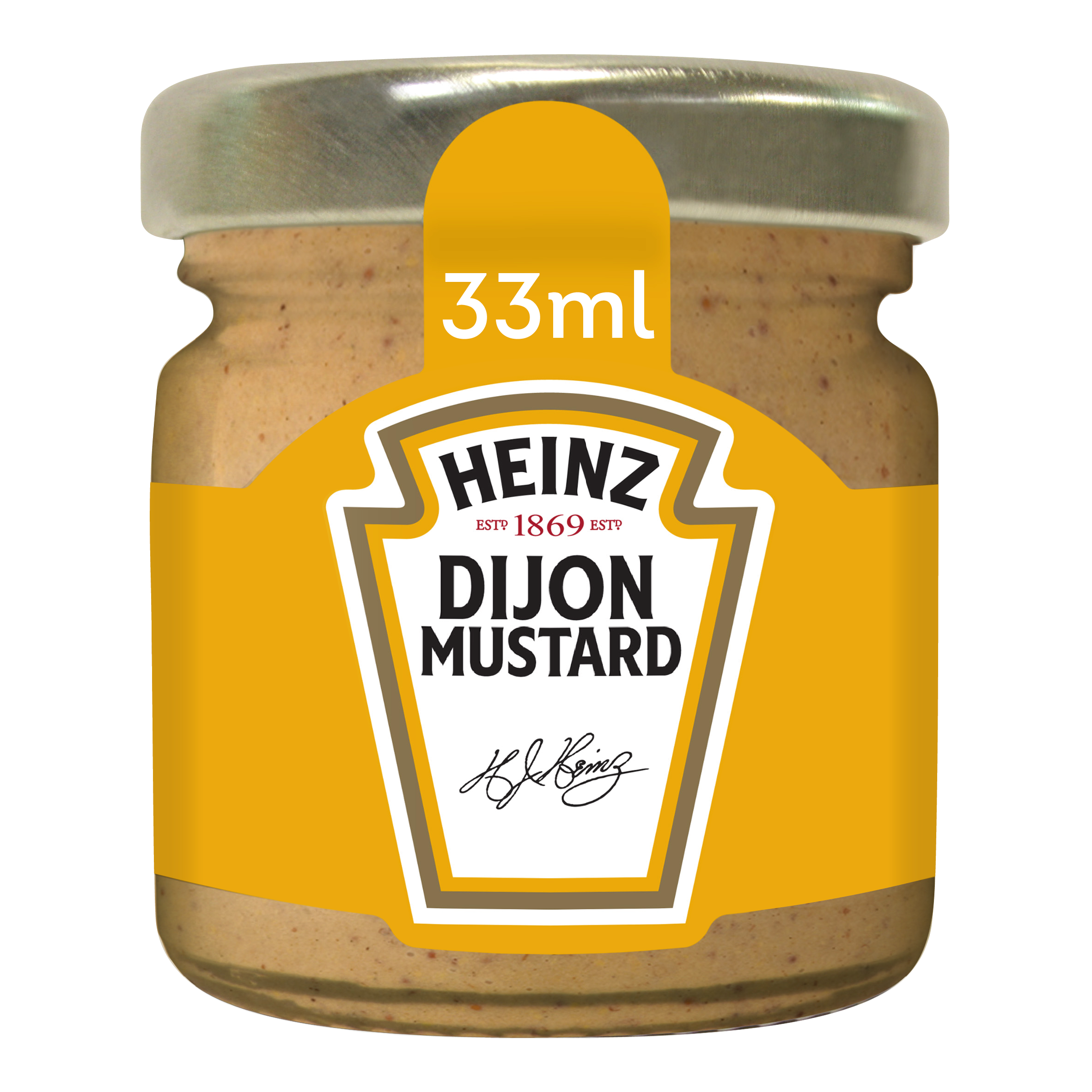 Heinz Moutarde de Dijon 33ml Mini Pot Verre