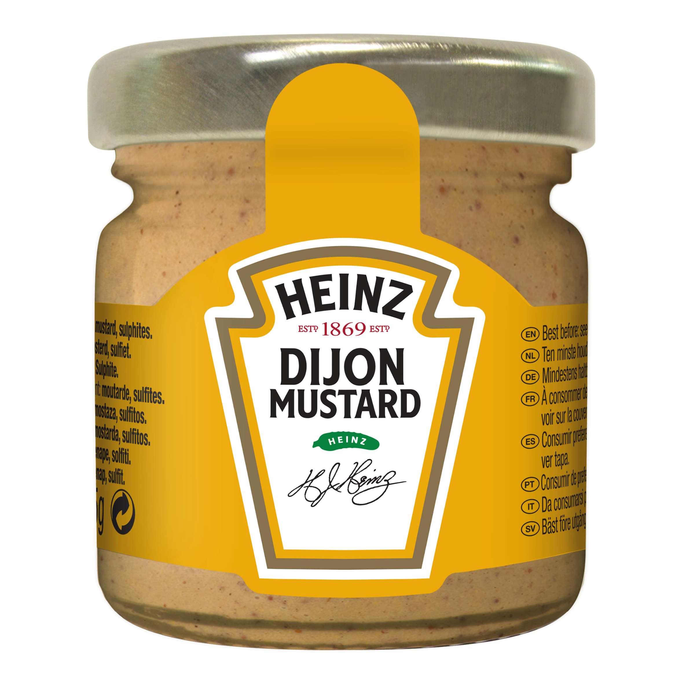 Heinz Dijon Mustard 33ml Premium Mini Jars