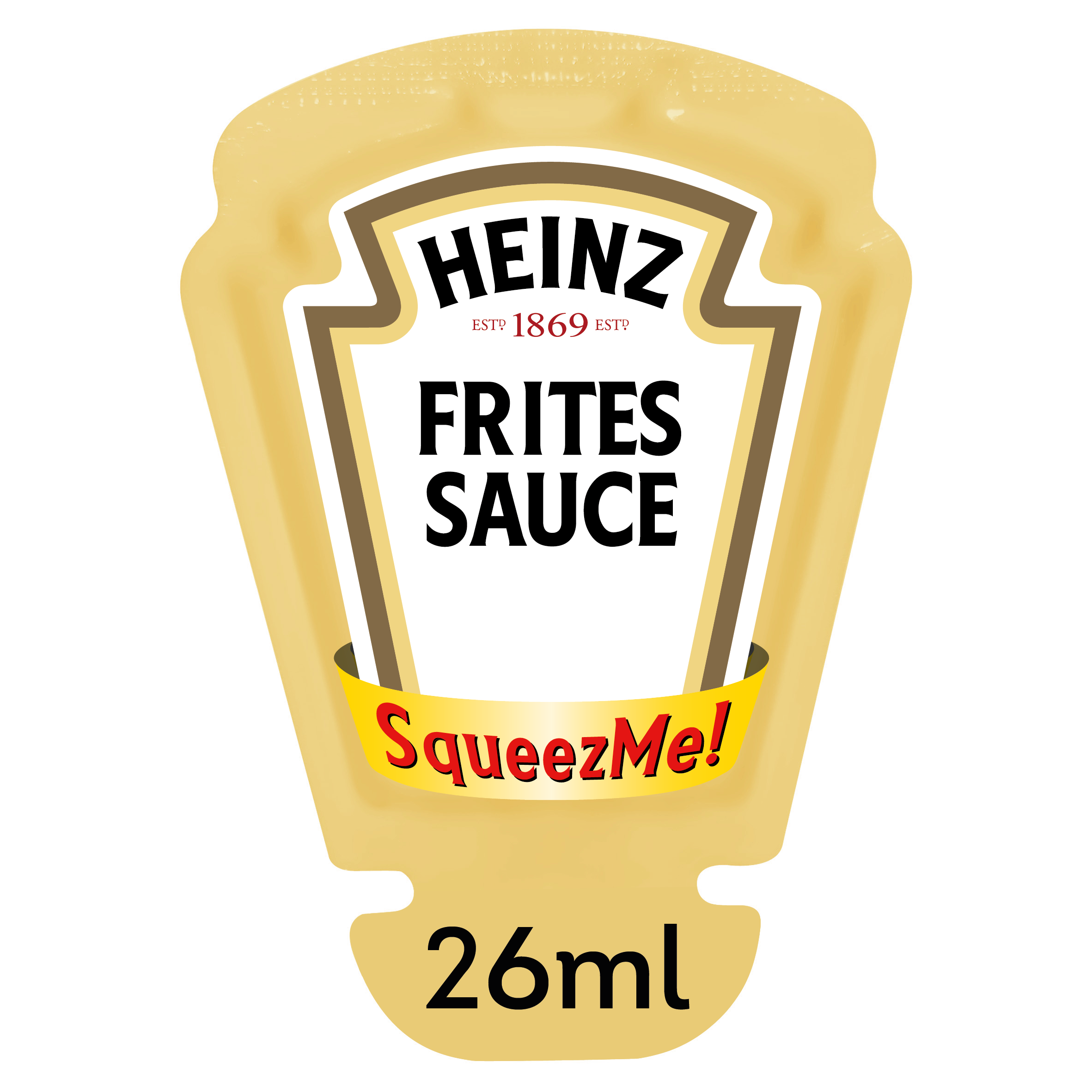 Heinz Fritessaus Squeez-Me 26ml image