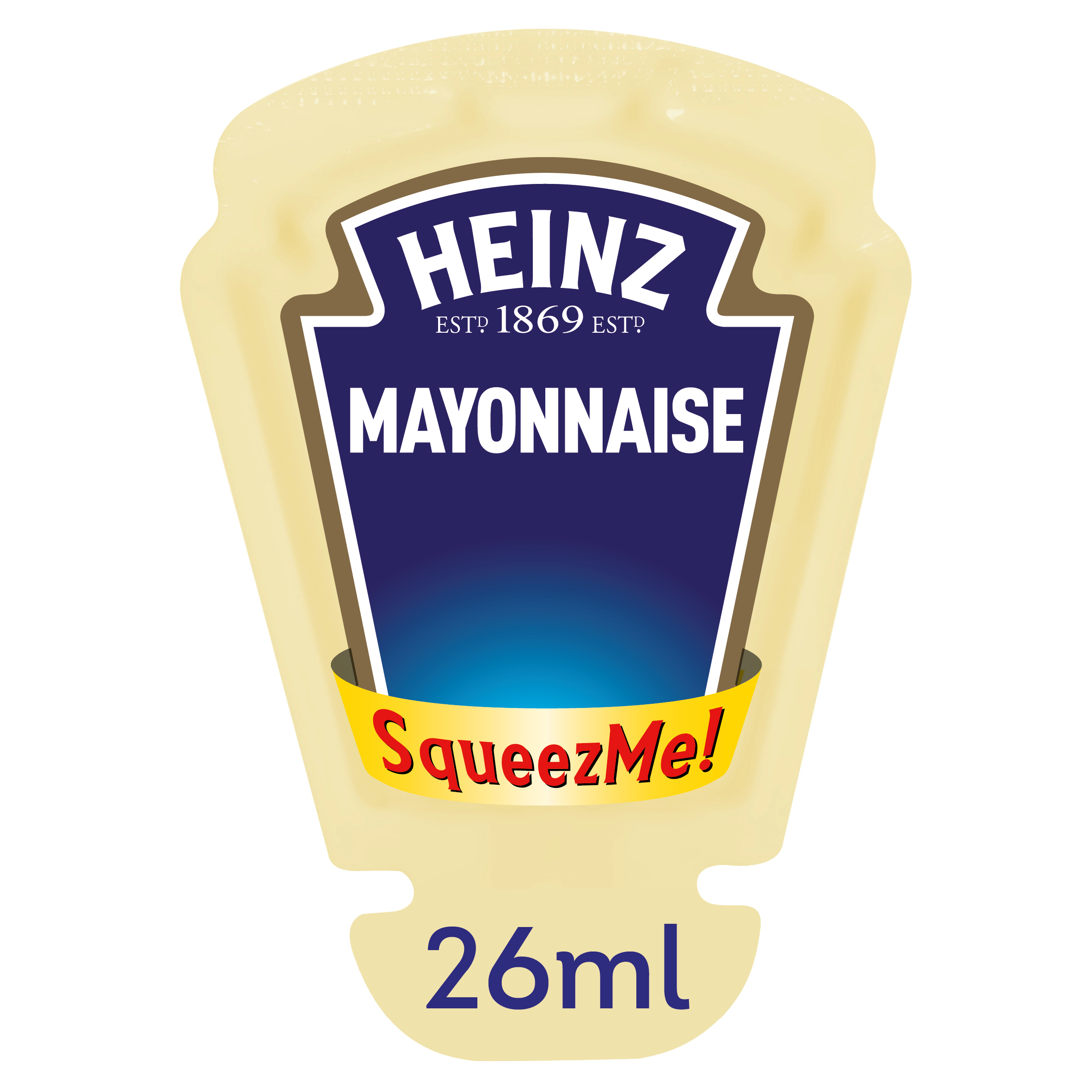 Heinz Mayonnaise 26ml Squeezme