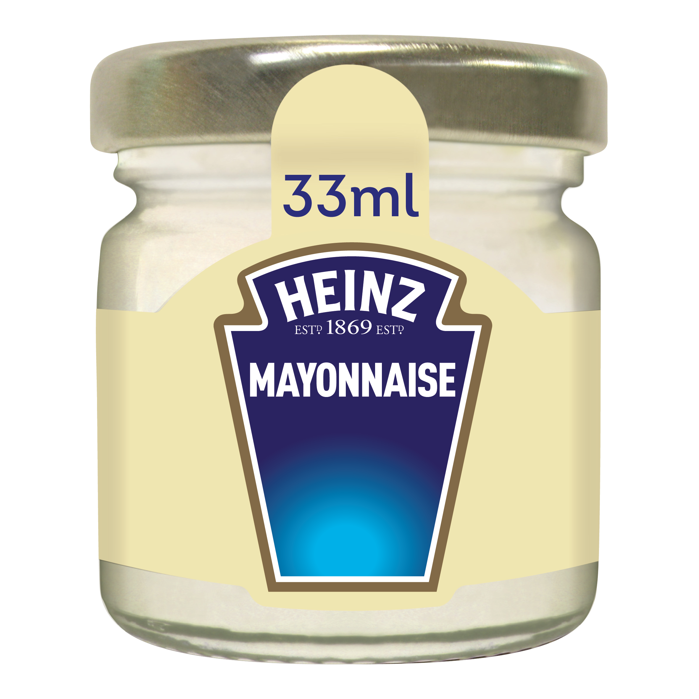 Heinz Mayonnaise Free range eggs 33ml Premium Mini Jars image