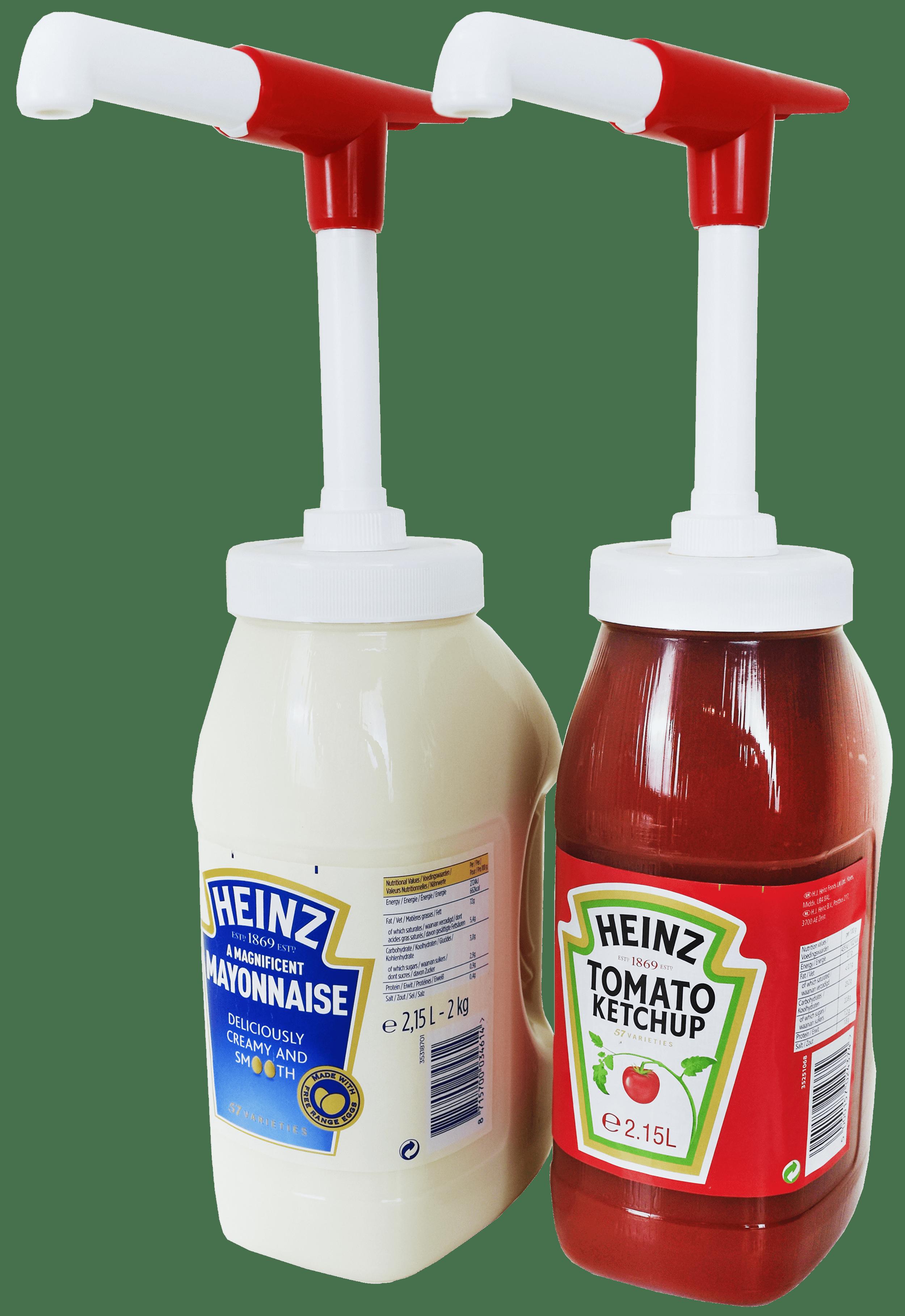 Dosierpumpe für 2,15l und 2l Kannen (passend für Heinz, Kraft und Bull's Eye)