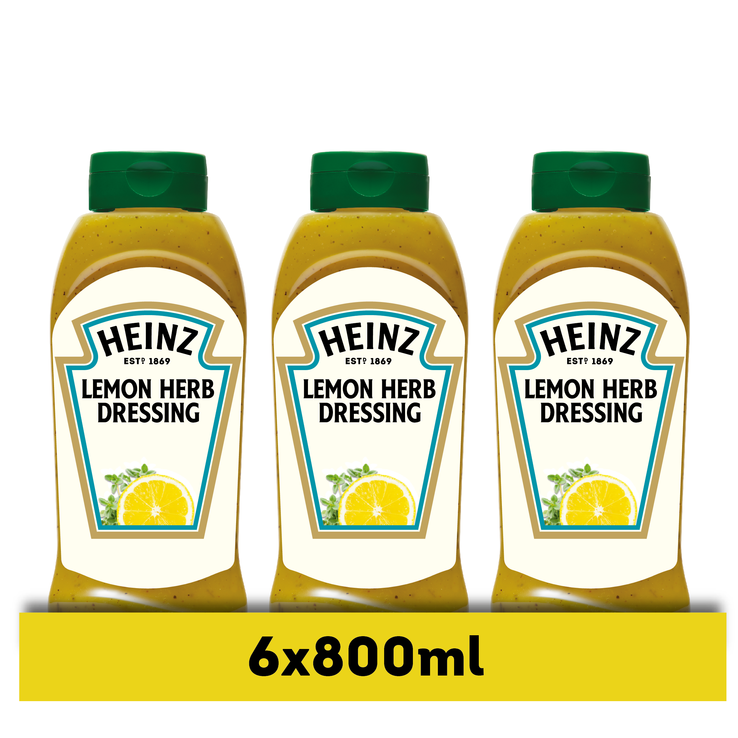 Heinz Lemon & Herb Dressing fles 800ml