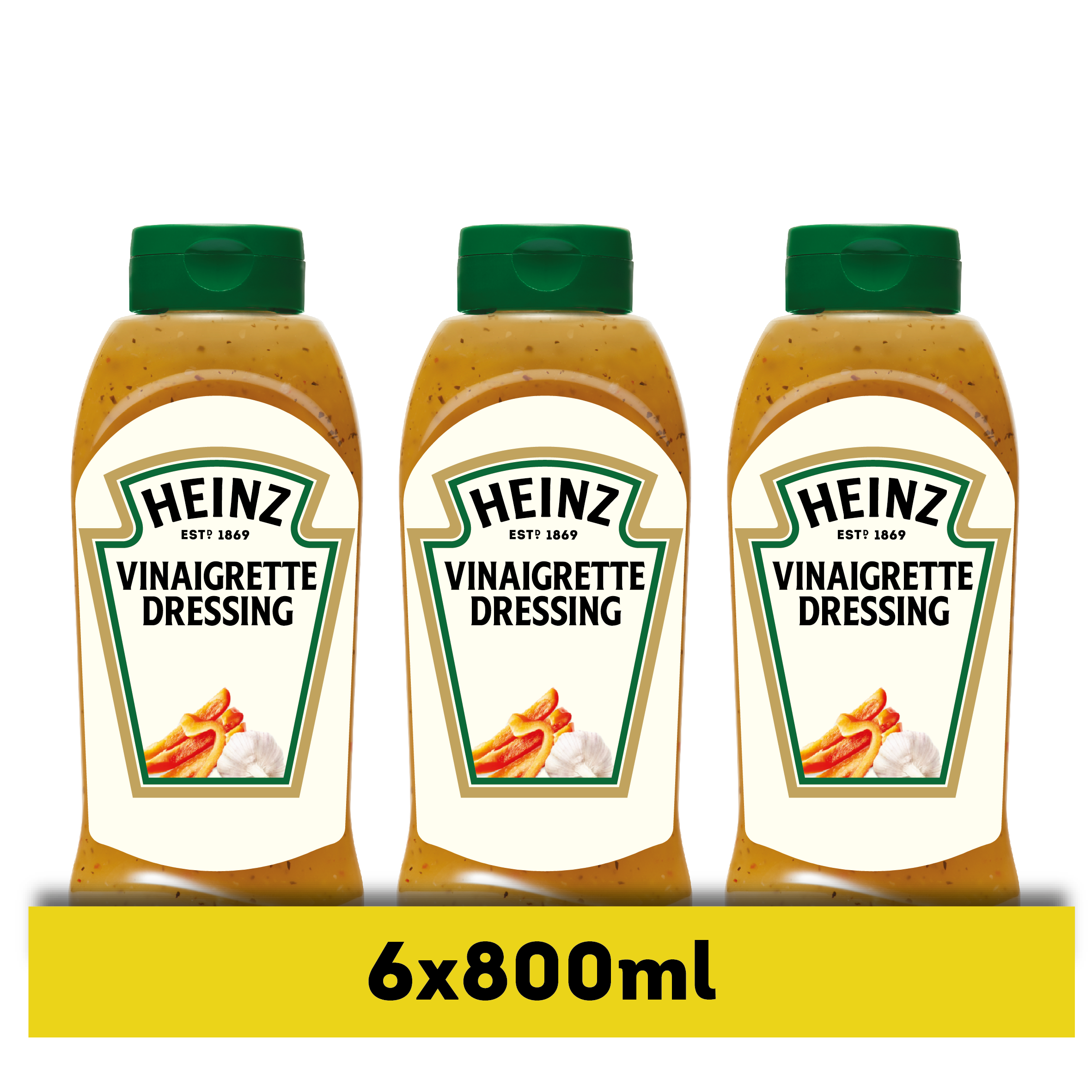 Heinz Vinaigrette 800ml Bottom Up