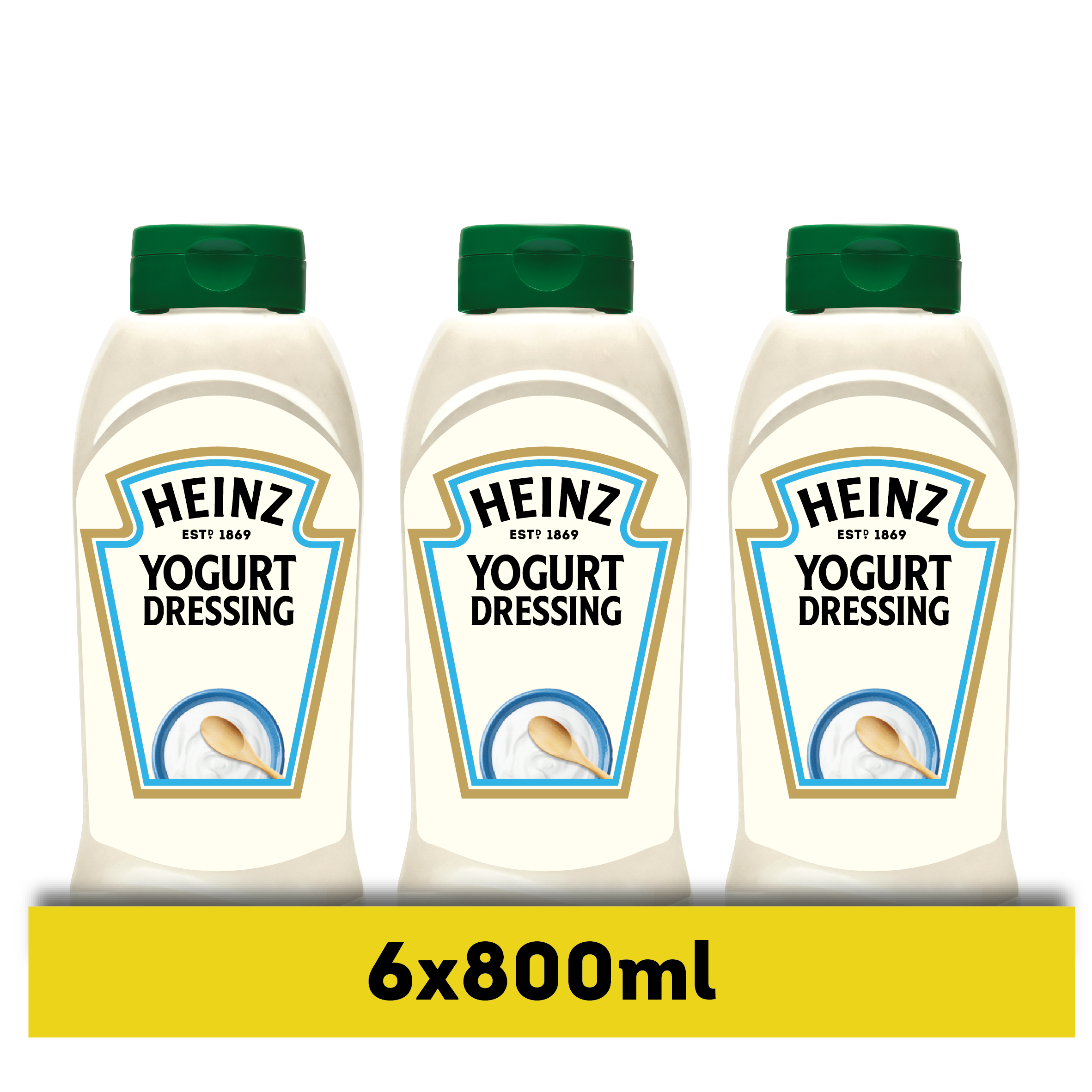 Heinz Yoghurt dressing 800ml fles