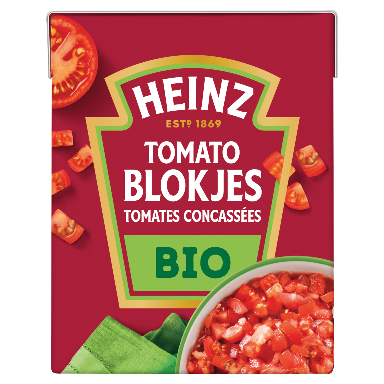 Tomato Blokjes Naturel Biologisch
