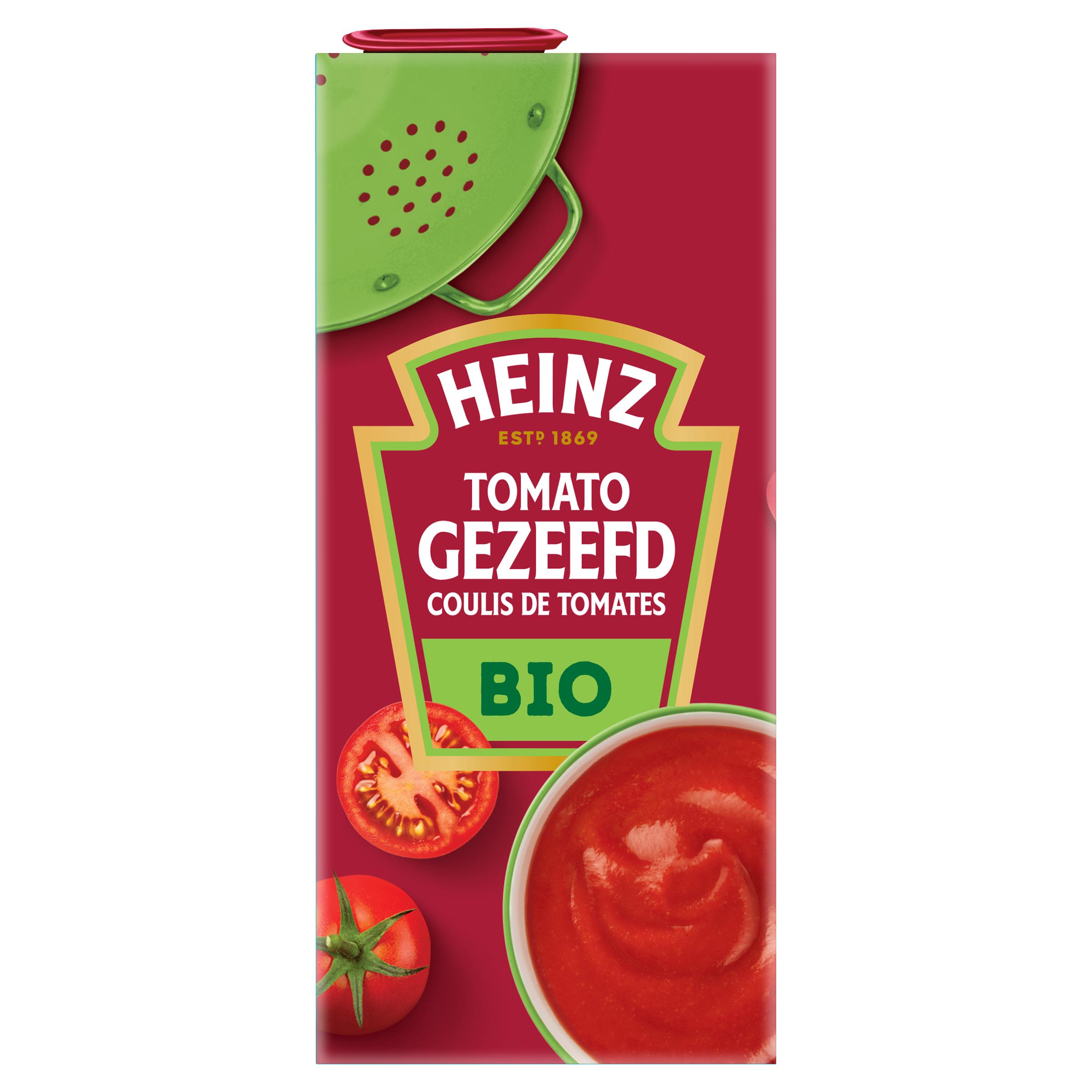 Tomato Gezeefd Biologisch