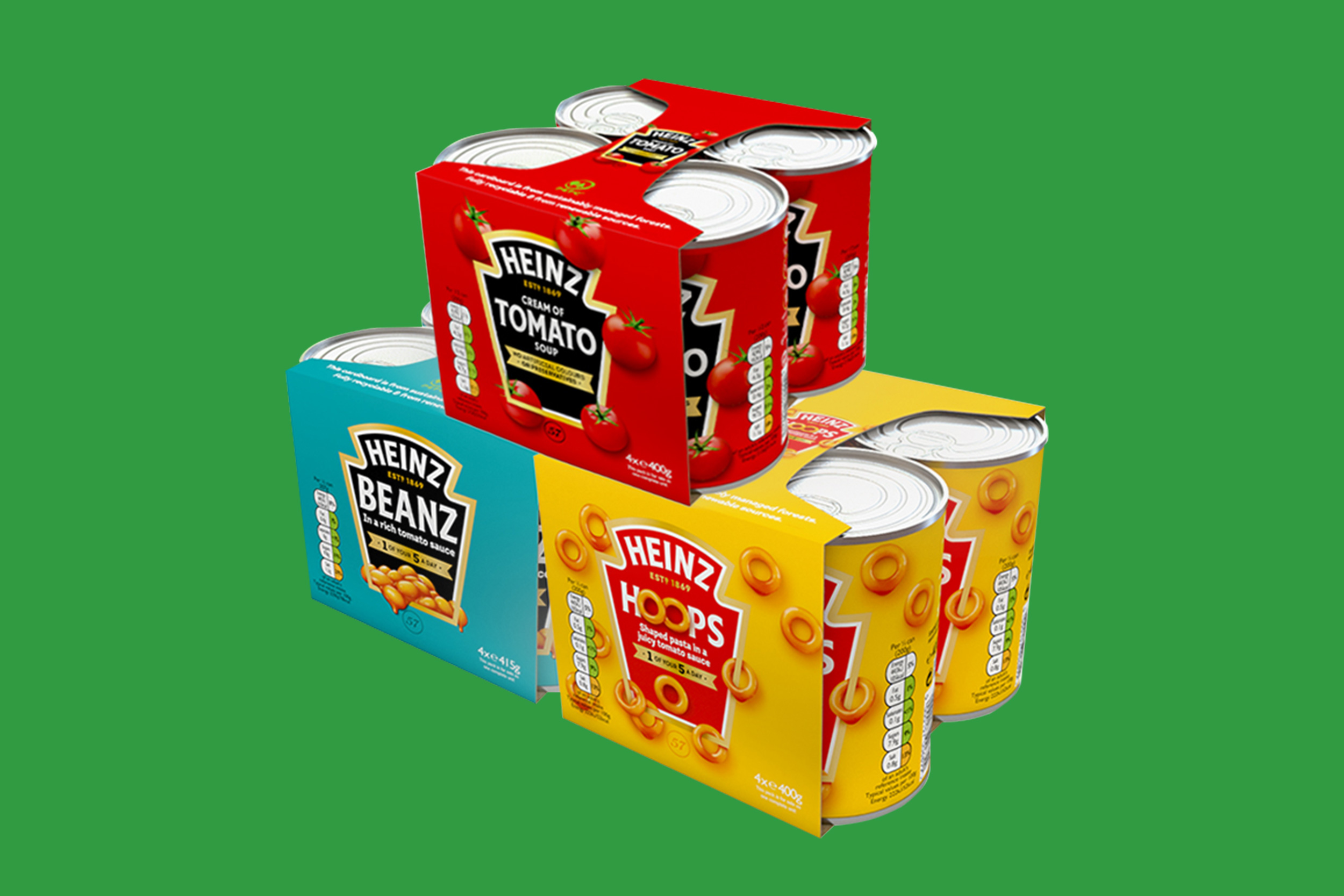 New Heinz Eco-Friendly Multipacks