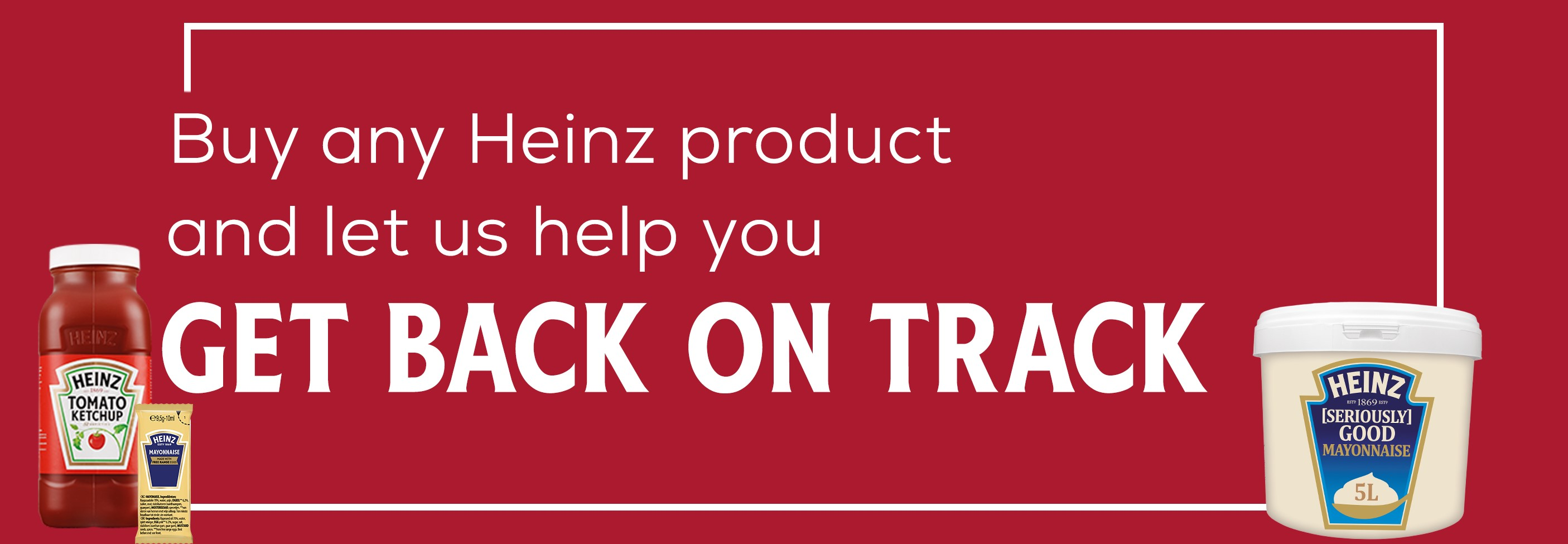 Get back on track banner image