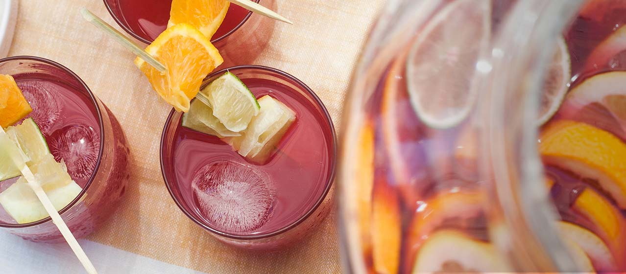 Fizzy Pomegranate Lemonade