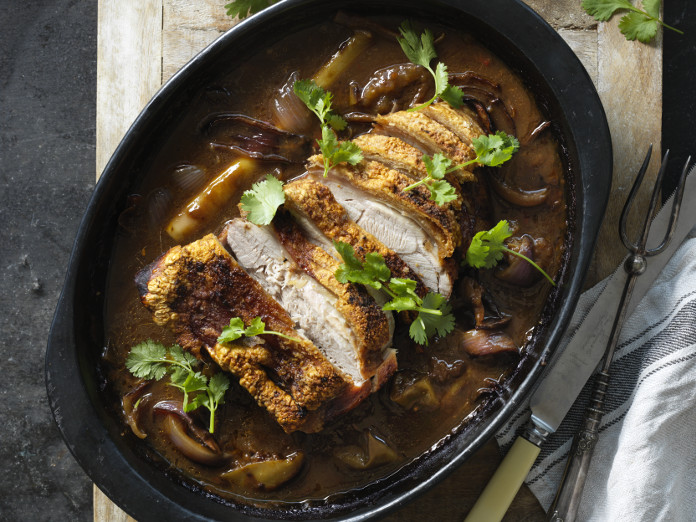 Slow-Cooked Asian Pork with Crackling