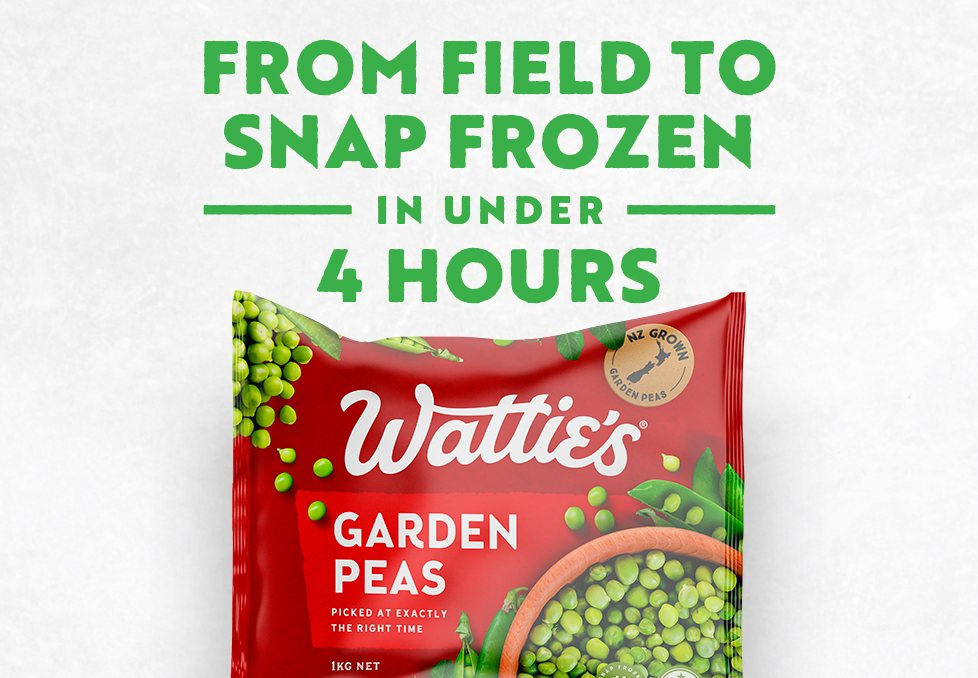 Snap Frozen Process