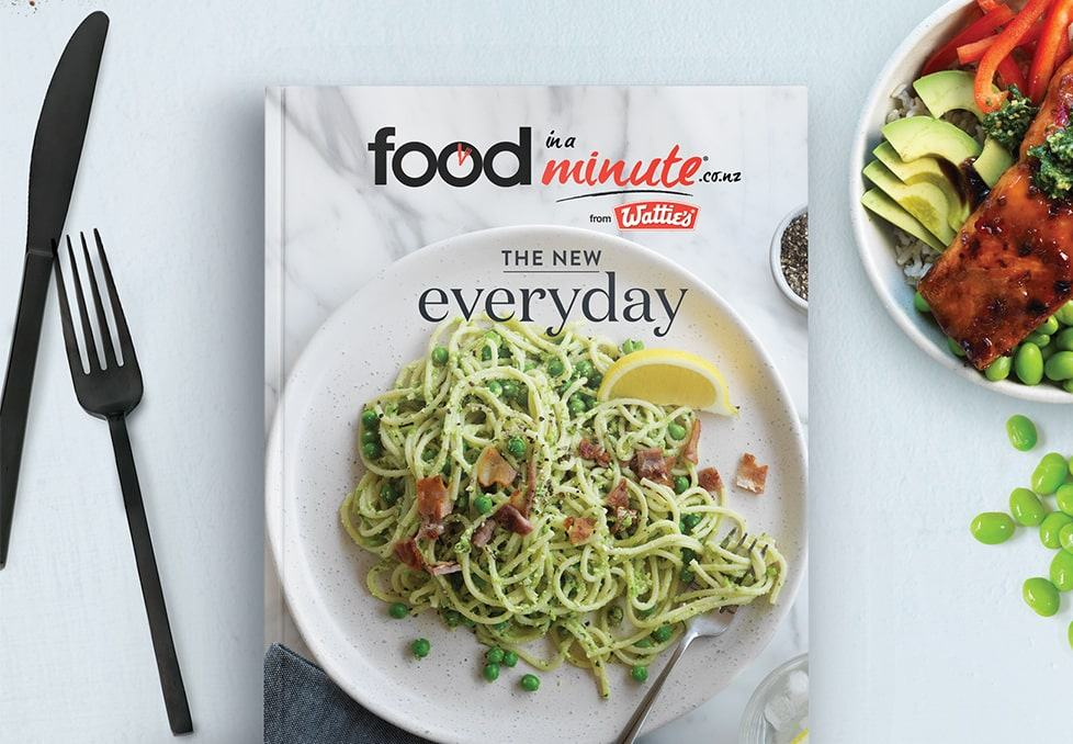 Food in a Minute Everyday Cookbook!