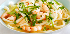 Sweet Chilli Prawn Noodle Broth