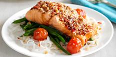 Oriental Baked Salmon