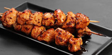 Soy, Honey and Mustard Chicken Skewers