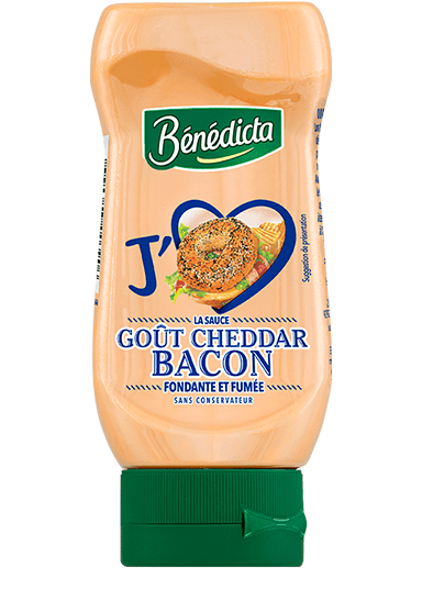 Sauce goût Cheddar Bacon