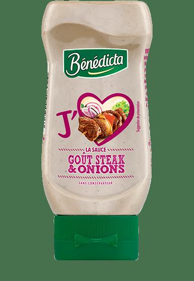 Sauce goût Steak & Onions