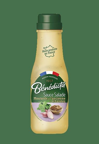 Sauce Salade Moutarde à l'ancienne & Echalotes