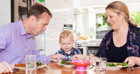 Eat nicely, please: teaching your toddler table manners