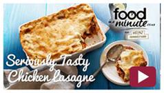 Seriously Tasty Chicken Lasagne Video