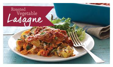 Roasted Vegetable Lasagne Recipe
