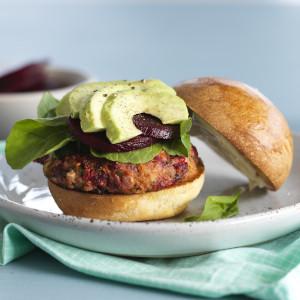 Beetroot Veggie Burgers