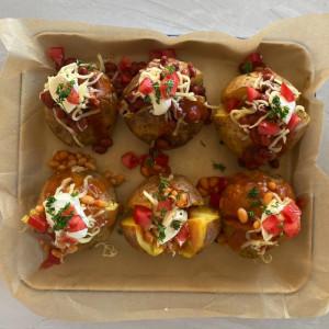 Easy Baked Potatoes