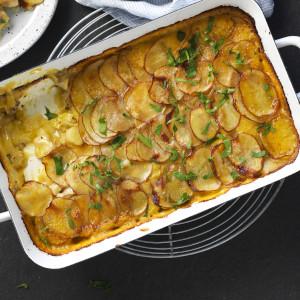 Honey Mustard Chicken and Potato Bake