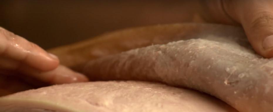 How to Skin a Ham Step 2