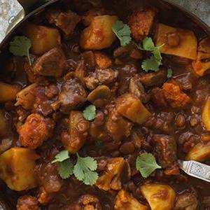 Indian Lamb and Lentils