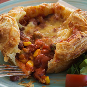 Mexican Bean and Corn Pies