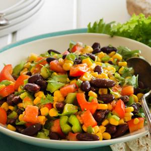 Mexican-Style Chunky Bean Salad