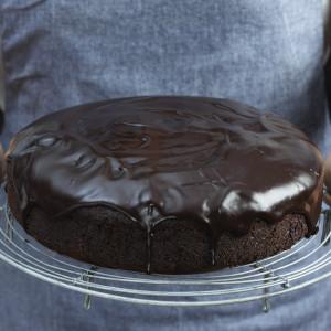 Mocha, Chocolate & Ginger Cake