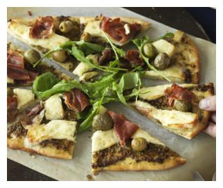 Prosciutto & Pesto Pizza